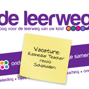 Vacature remedial teacher